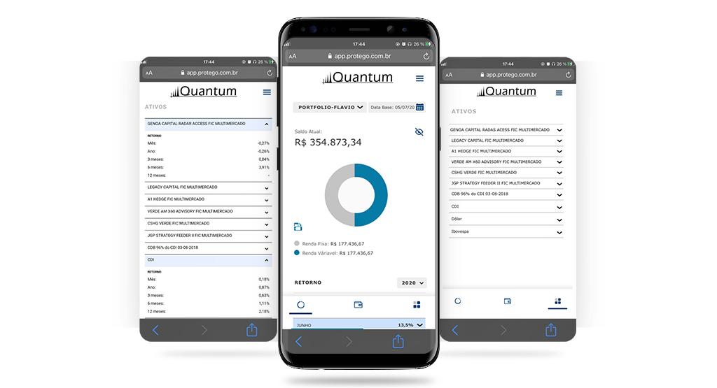 Quantum Monitoramento e consolidação de carteiras _ mobile 3